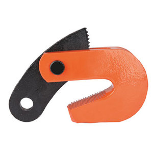 L horizontal steel plate lifting clamp